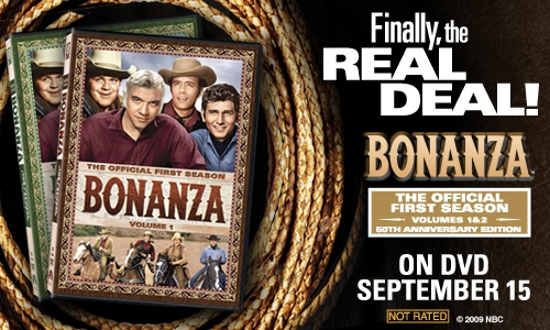 Bonanza on DVD