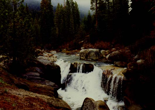 Clark Fork River Waterfalls Photo 1