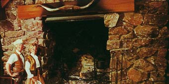 Ponderosa Ranch Fireplace