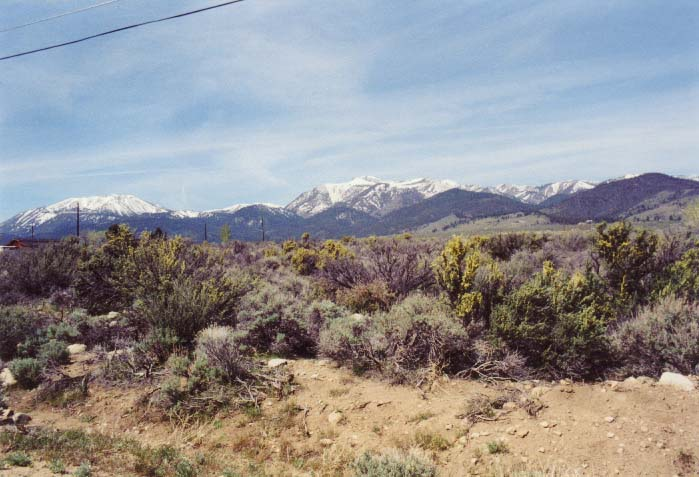 Slide Mountain and Mount Rose Photo from Washoe Valley